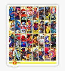 G.I. Joe in the 80s!  Cobra Edition! (Version B) Sticker