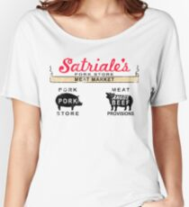 Satriale's Distressed Tee Women's Relaxed Fit T-Shirt