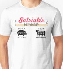 Satriale's Distressed Tee Slim Fit T-Shirt