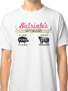 Satriale's Distressed Tee Classic T-Shirt