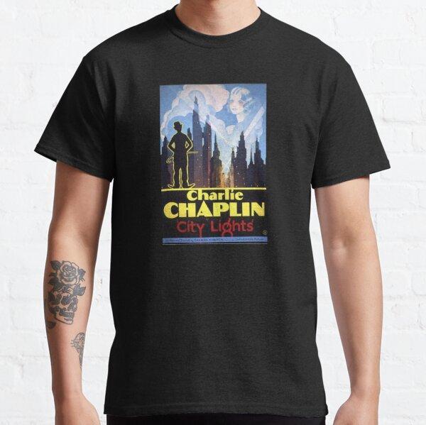 Luces de la ciudad de Charlie Chaplin Camiseta clásica