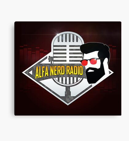 Alfa Nerd Radio Canvas Print