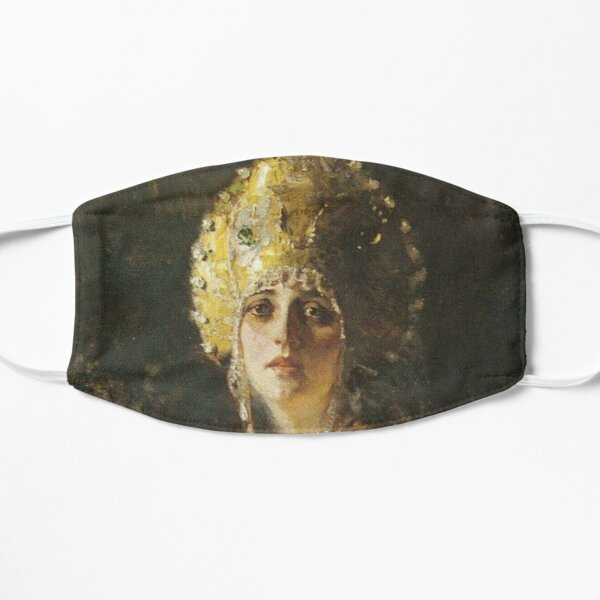 19th-century Russian paintings Mask