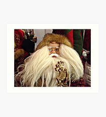 Santa Claus Is Coming To Town Art Print