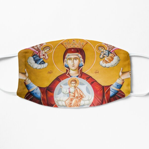 Queen of Heaven Flat Mask