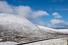 First Snow on Cairngorms Plateau by Cliff Williams