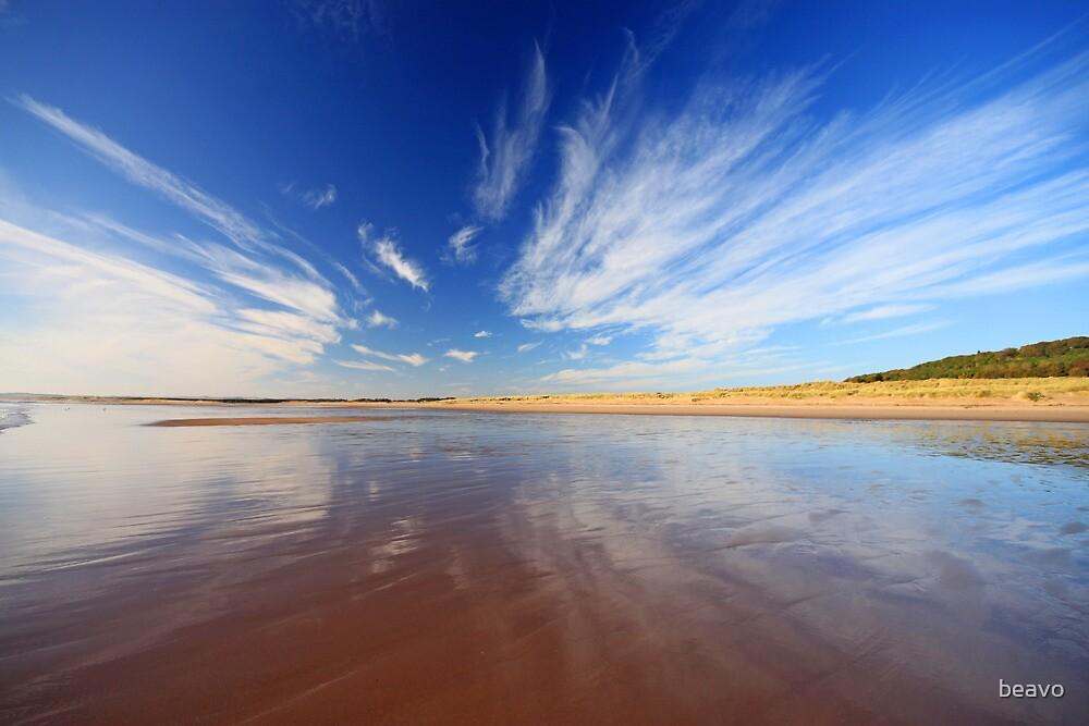 St Cyrus Beach by beavo