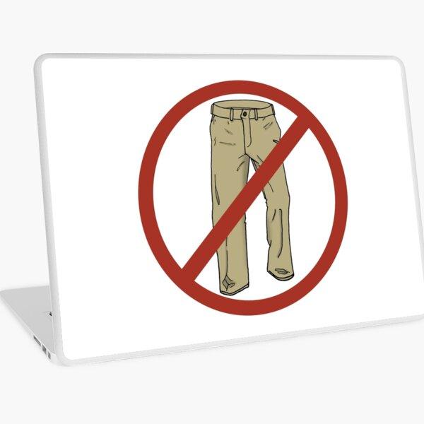 No Pants! Laptop Skin