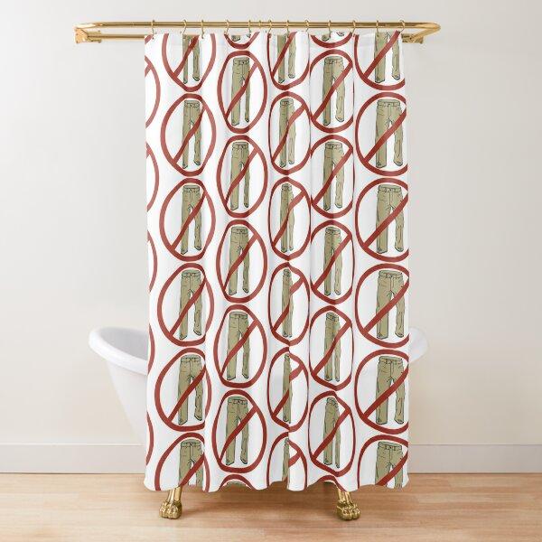 No Pants! Shower Curtain