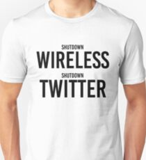 "STORMZY SHUT UP ""shutdown wireless, shutdown twitter"" T-Shirt"