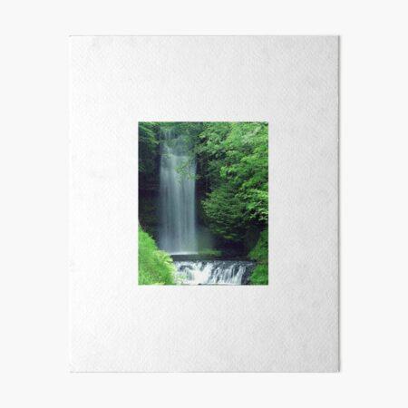 Fegn Shui Waterfall for Abundance 1 Art Board Print