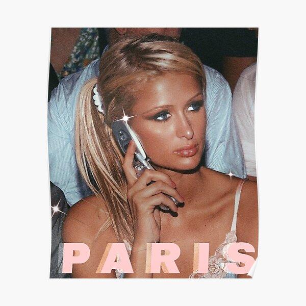 paris hilton 90s aesthetic y2k pink Poster