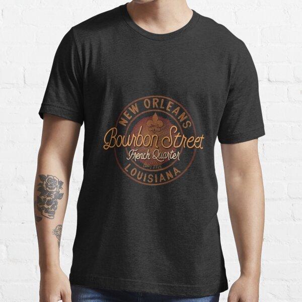 Bourbon Street French Quarter New Orleans Souvenir Gift Essential T-Shirt