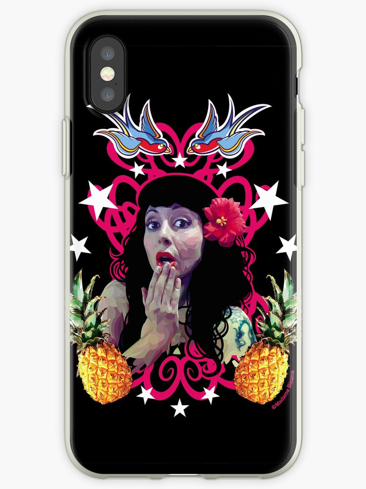 Old School Sweety - iphone/ ipod Cases by Madame Bizarre