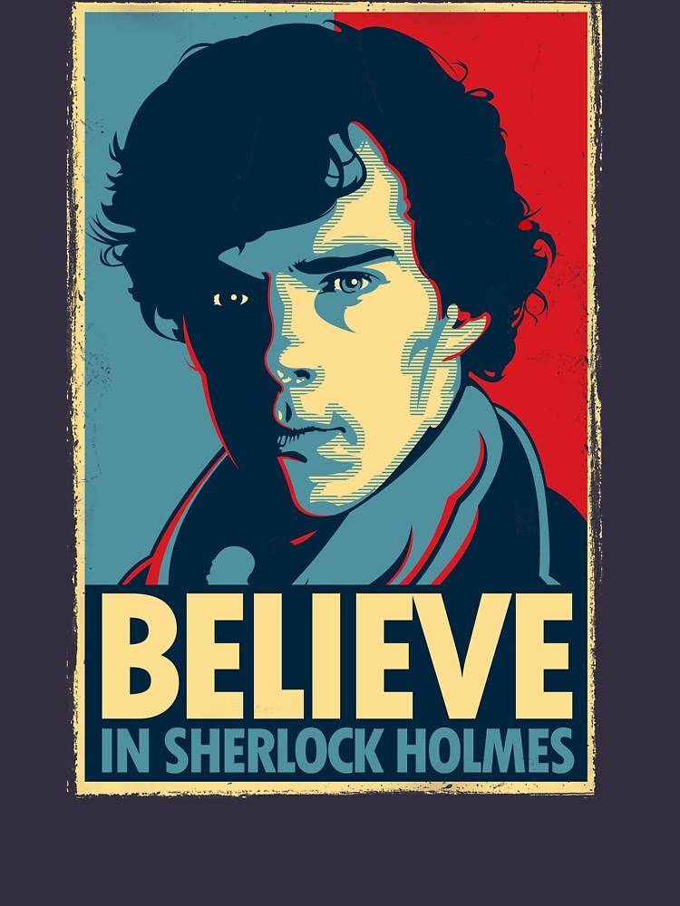 Believe in Sherlock Holmes | Unisex T-Shirt