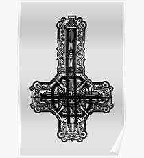 Ghost - Meliora logo Poster