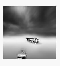misty scapes Photographic Print