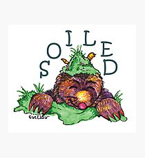 Soiled shirt (Drawn) Photographic Print