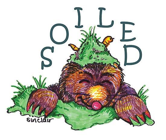 Soiled shirt (Drawn) by Maisie Sinclair