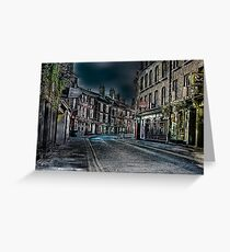 Evening in Low Petergate Greeting Card