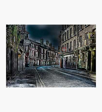 Evening in Low Petergate Photographic Print