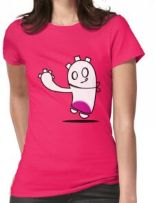 fun guy Womens Fitted T-Shirt
