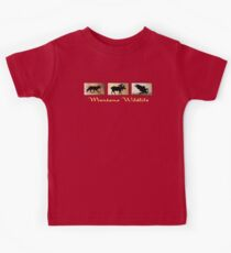 Montana Wildlife Kids Clothes