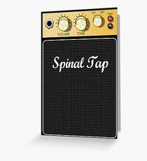 This is Spinal Tap Marshall Amp  Greeting Card