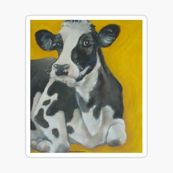 Cow Portrait Sticker