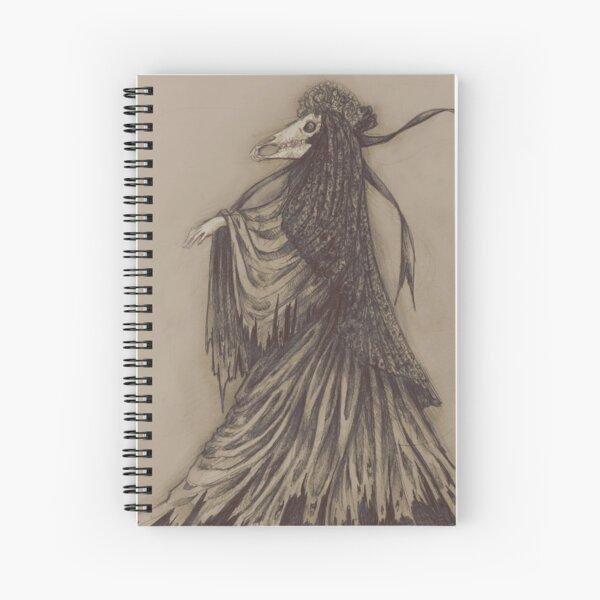Mari Lwyd Spiral Notebook