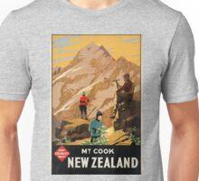 Vintage poster - New Zealand Unisex T-Shirt