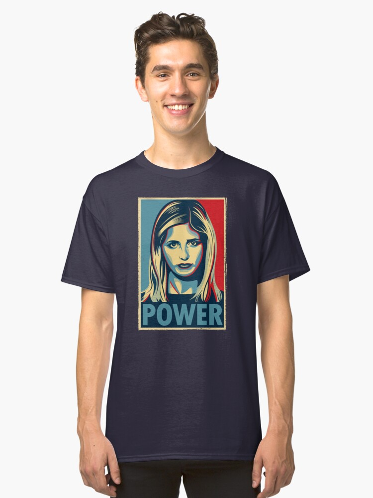 Power Classic T-Shirt Front