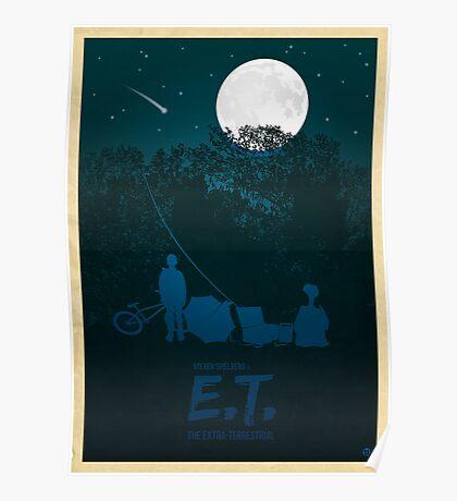 Steven Spielberg's E.T. Poster