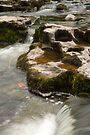 Flowing water in Yorkshire Dales by Cliff Williams