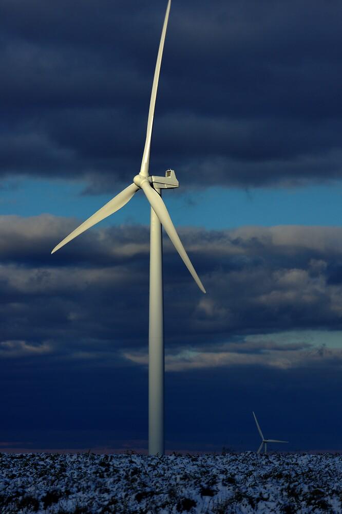 Maple Ridge Windmill by Dennis Comins