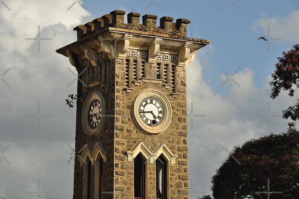 Old Clock Tower in Kurunagala, Sri Lanka by hazarip
