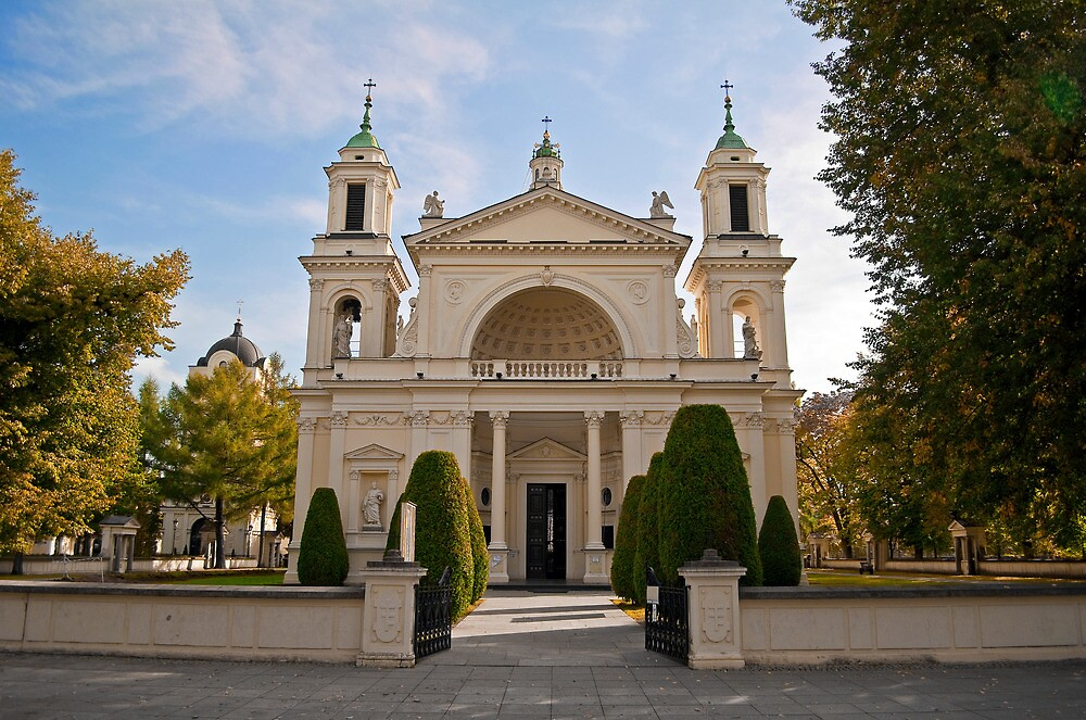 St. Anne's Church, Wilanow Palace. by FER737NG
