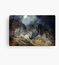 Crying of the Wind. Canvas Print