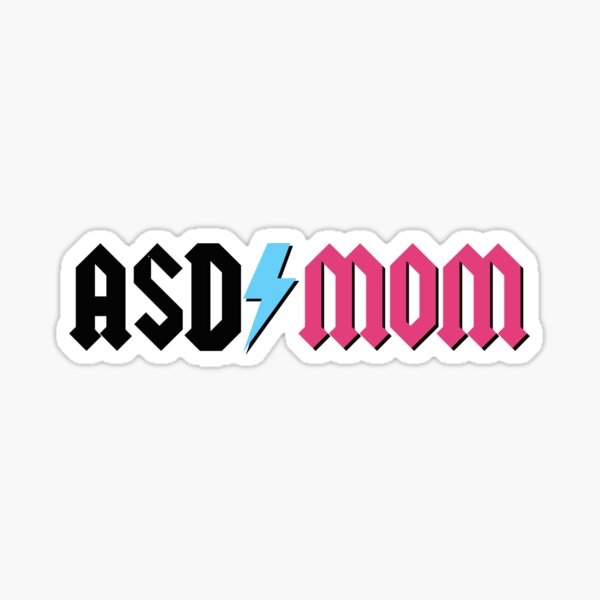 ASD Mom, IYKYK Sticker