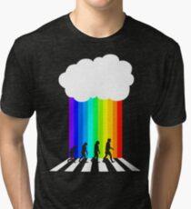 99 Steps of Progress - Psychedelia Tri-blend T-Shirt