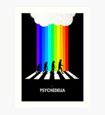 99 Steps of Progress - Psychedelia Art Print