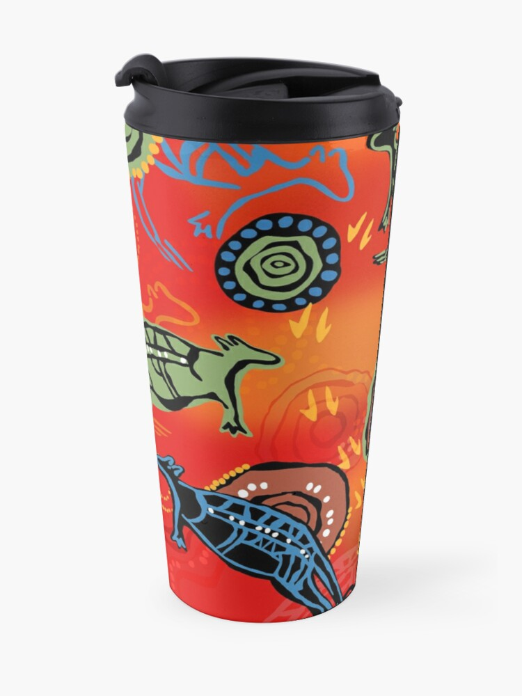 Alternate view of QANTAS DREAMING Travel Mug