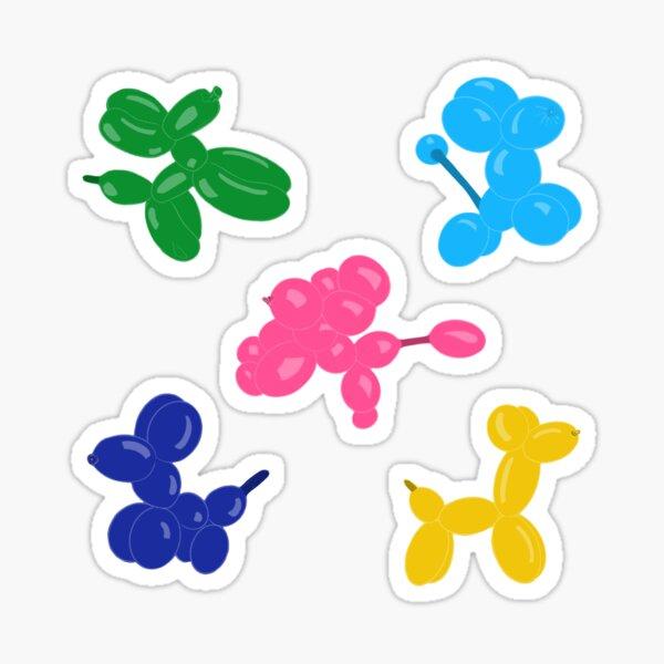 Balloon Dog Sticker Pack Sticker