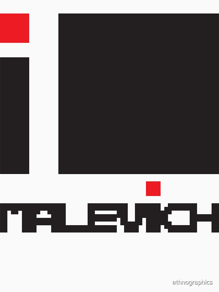 I LOVE MALEVICH T-shirt by ethnographics