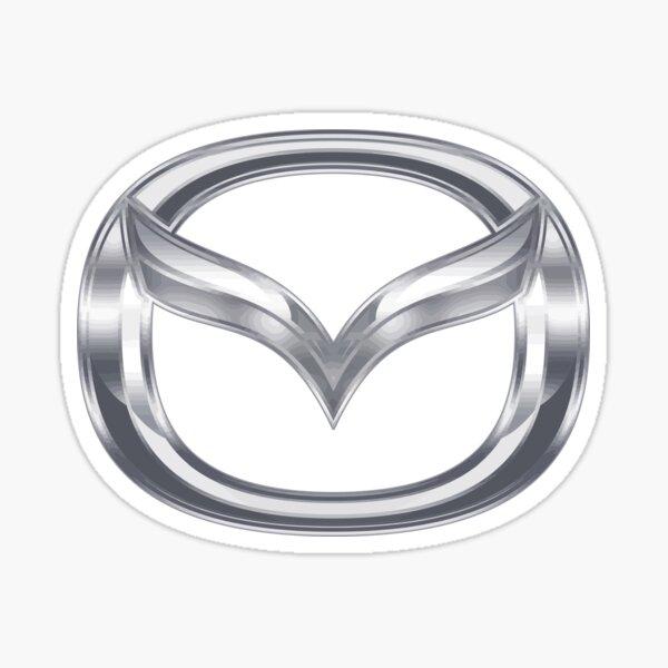 Dos Pegatinas Insignia Mazda MX5 Kendo Calcomanía