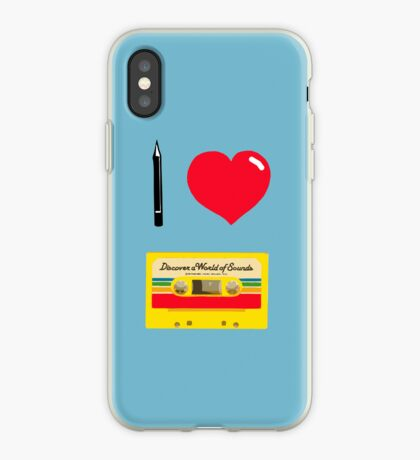 Tapencil love iPhone Case