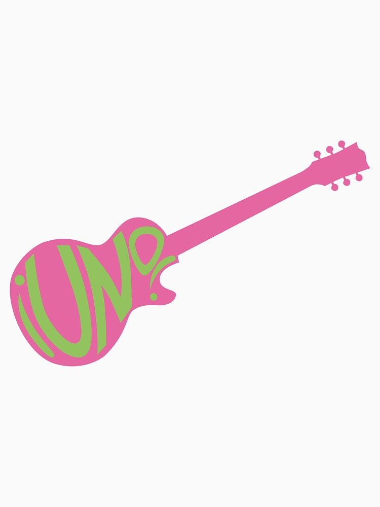 ¡UNO! Guitar Design by smellofthemonth