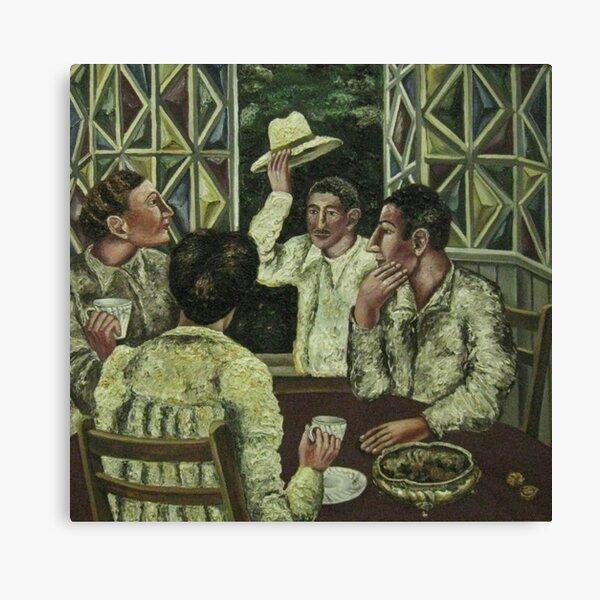 выставка «Художественное содружество наций» из фондов Сочинского художественного музея Canvas Print