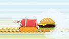 Fast Food Train by mykowu