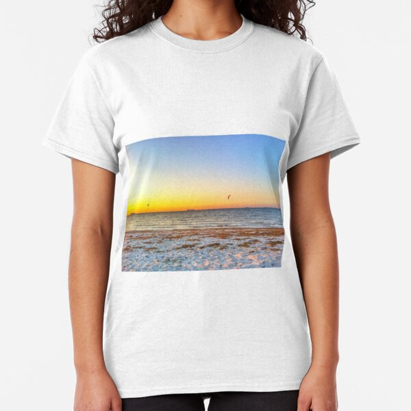 Big ships sailing on the ocean Classic T-Shirt